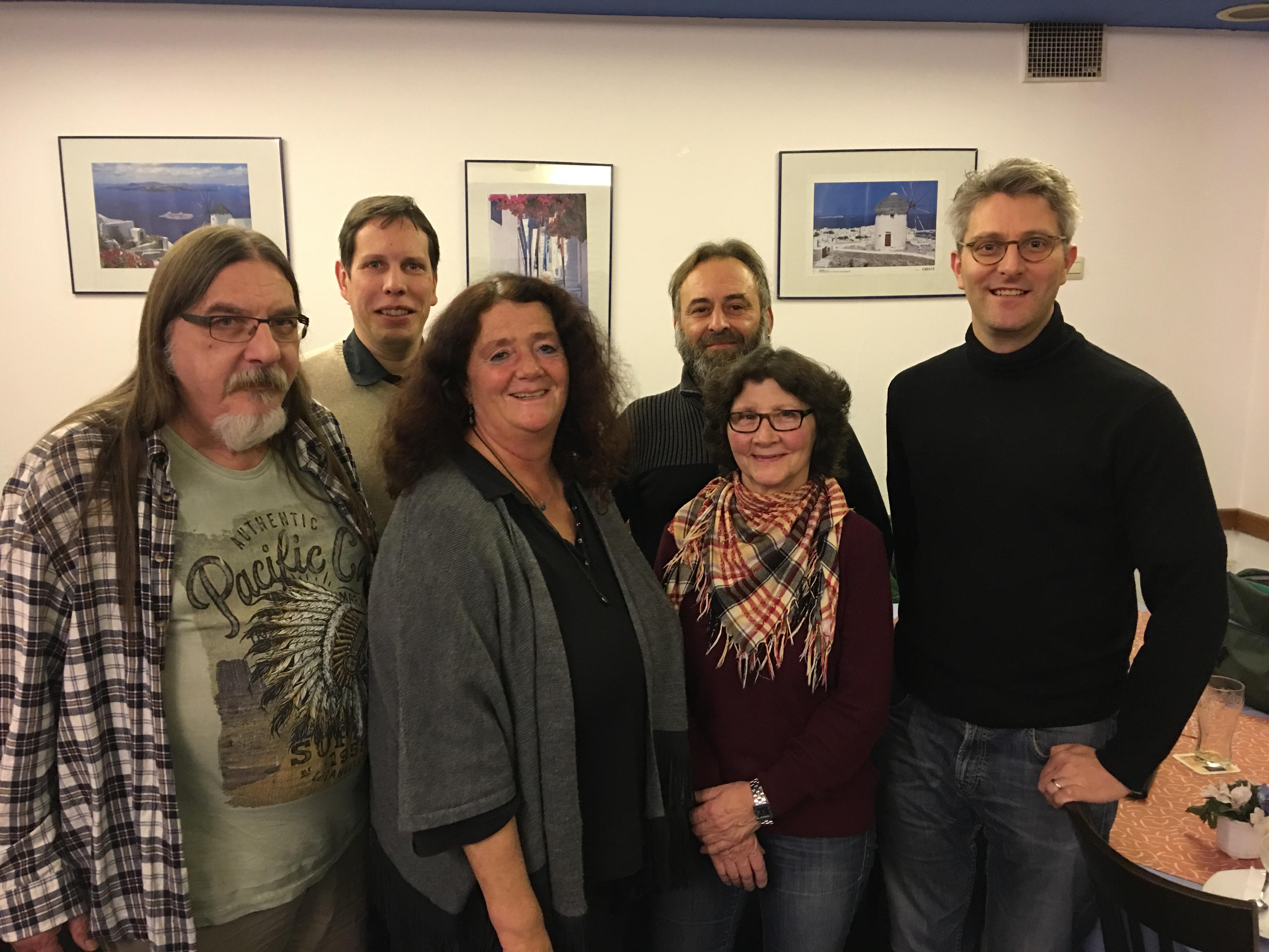 Kreisvorstand der GRÜNEN Darmstadt-Dieburg geht in neue Wahlperiode
