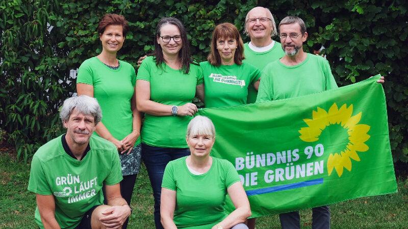 """GRÜNE Gruppenfoto """"Firmenlauf 2019"""""""