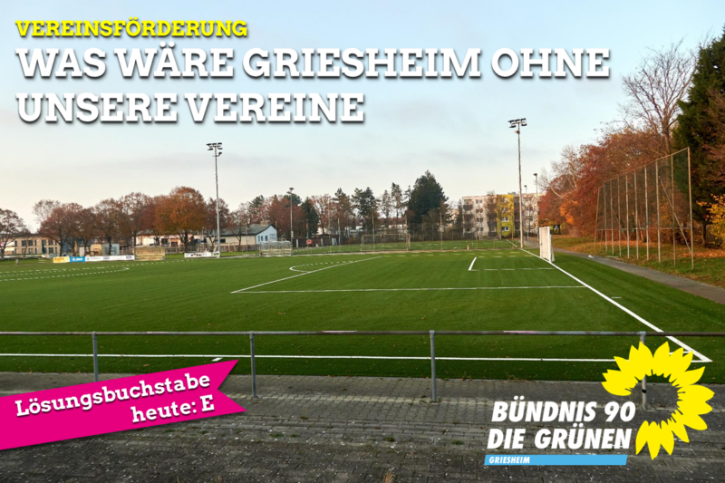 Was wäre Griesheim ohne unsere Vereine