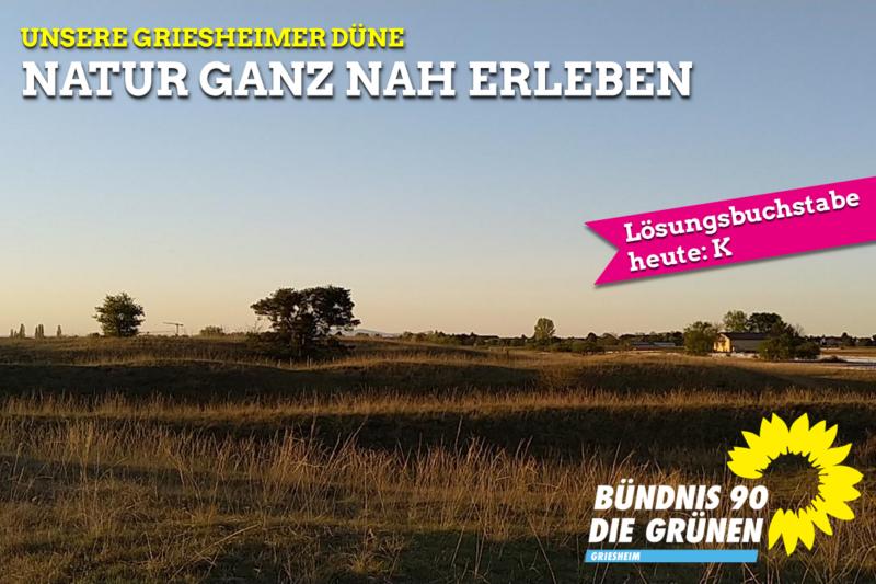 Unsere Griesheimer Düne - Natur ganz nah erleben