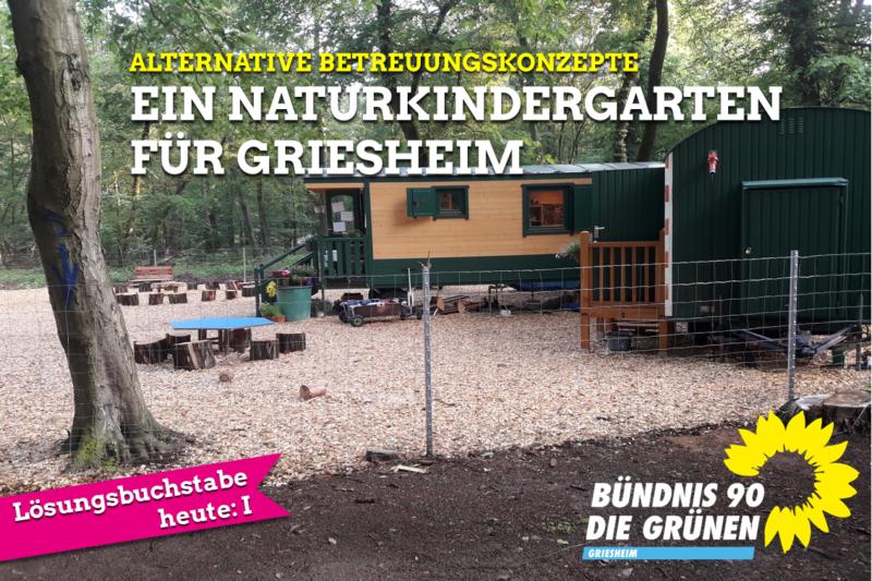 Ein Naturkindergarten für Griesheim