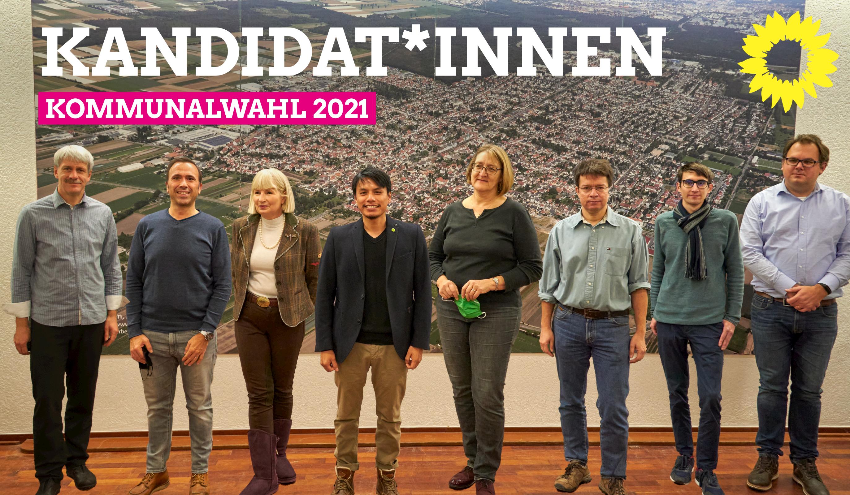 Kandidat*innen Kommunalwahl 2021