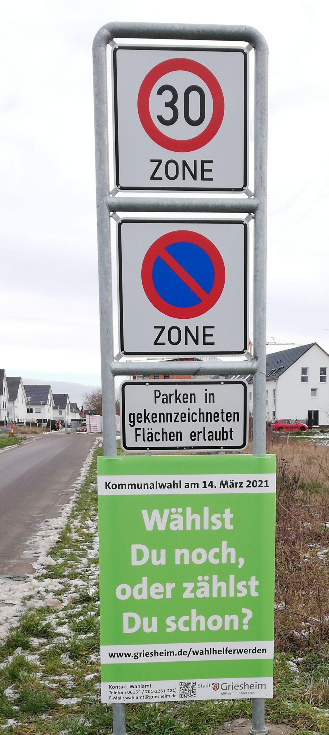 """Stadtverwaltung – Kampagne """"Wahlhelfer*in werden"""""""