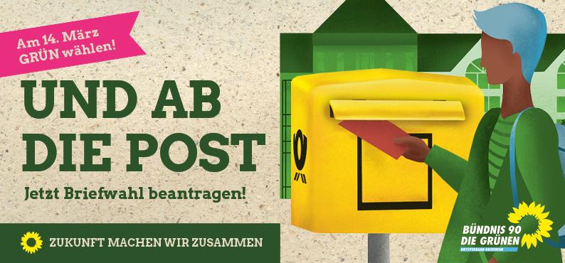 Flyer Briefwahl