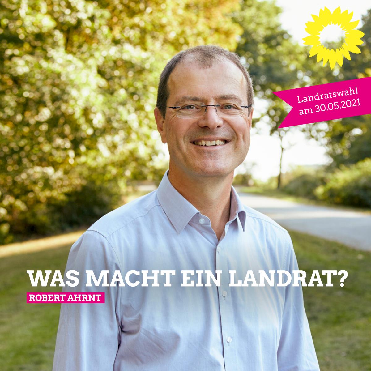 Landratskandidat Robert Ahrnt