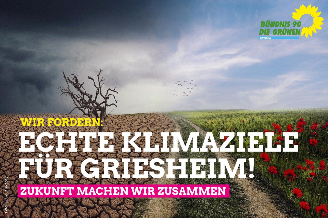 Griesheim soll bis 2040 klimaneutral werden